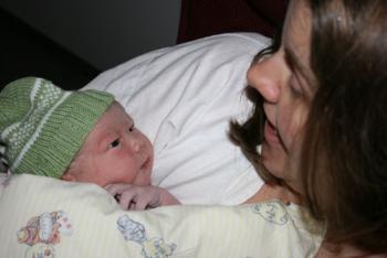 Så kom Jasper til verden efter fødslen blev sat i gang